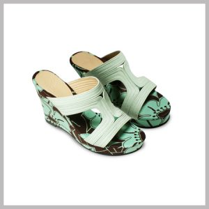 AYRA WEDGES LIGHT GREEN