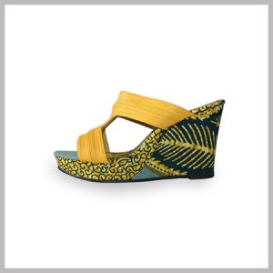 AYRA WEDGES (YELLOW)